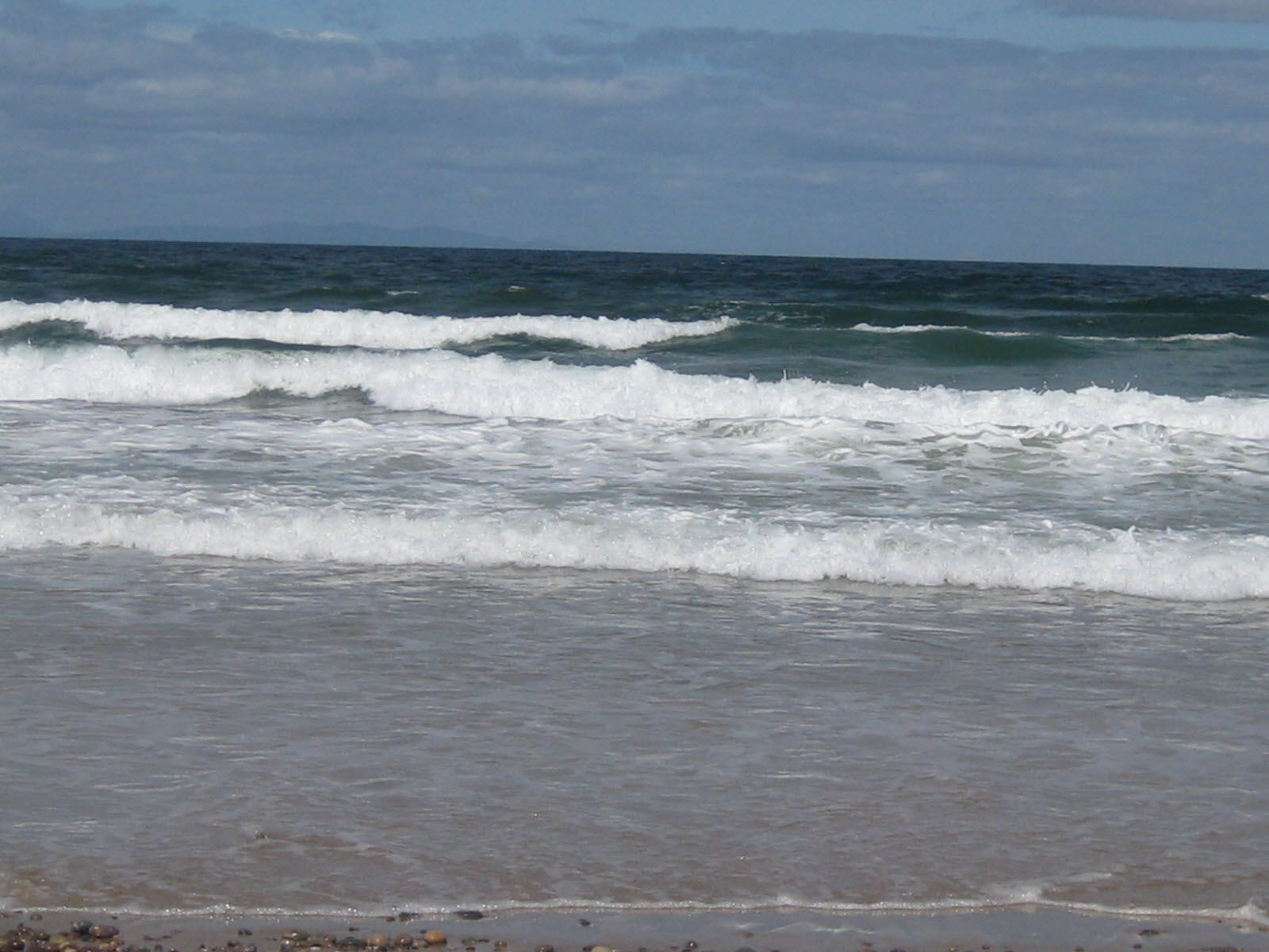 Findhorn's Beach surf